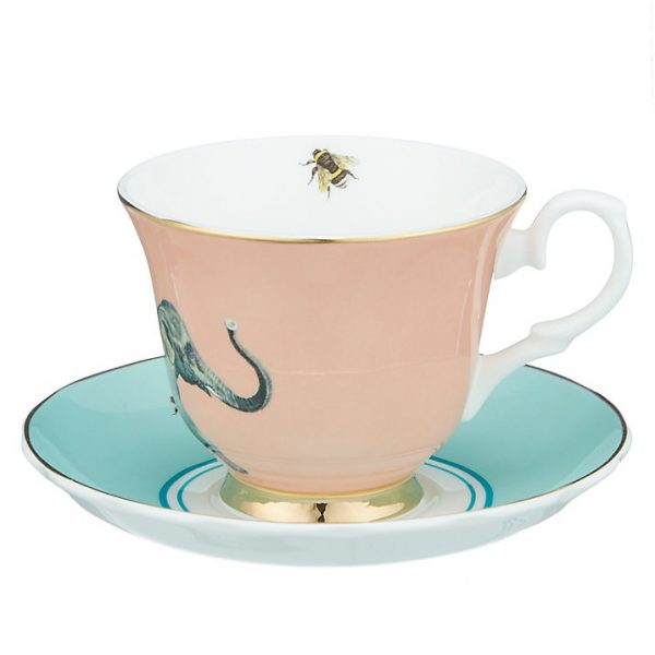 Yvonne Ellen Cup-and-saucer-Elephant