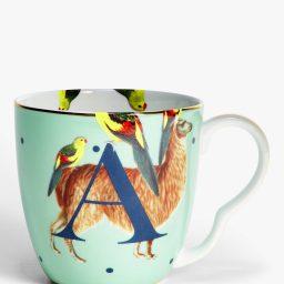 Yvonne Ellen Alphabet Mug - A