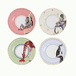 Yvonne Ellen Cake Plates Circus